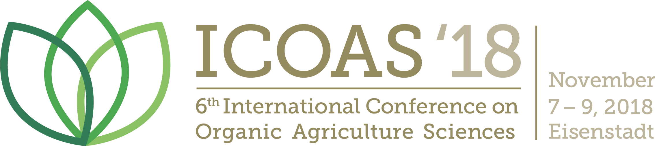 6th International Conference on Organic Agriculture Sciences (ICOAS);